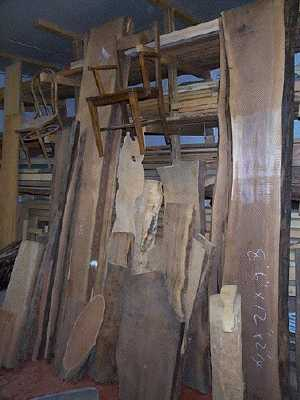 A wide variety of wood is what one will find in my wood storage. Woods from British Columbia, woods from Europe, eastern Canada, and woods from the rest of the world;  all will be found somewhere in my wood storage.